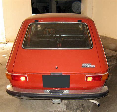 fiat 127 interni alex s garage