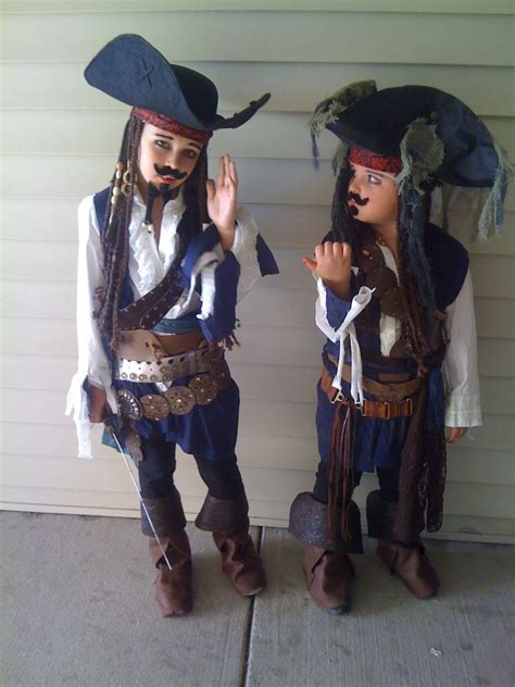 jack sparrow pirate costume diy halloween costume contest
