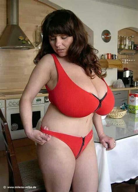 Red Milf Kitchen - milena velba voluptuous women pinterest