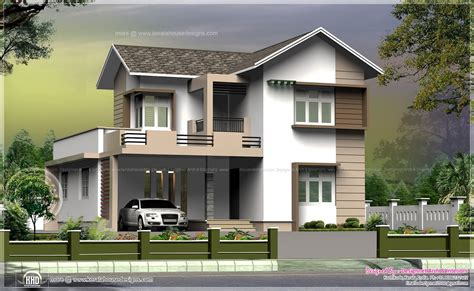 villa home plans 1965 square small villa in 5 cent plot home kerala