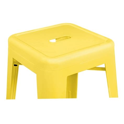 Stool Yellow by Yellow Powder Coated 65cm Style Stool Cult Furniture