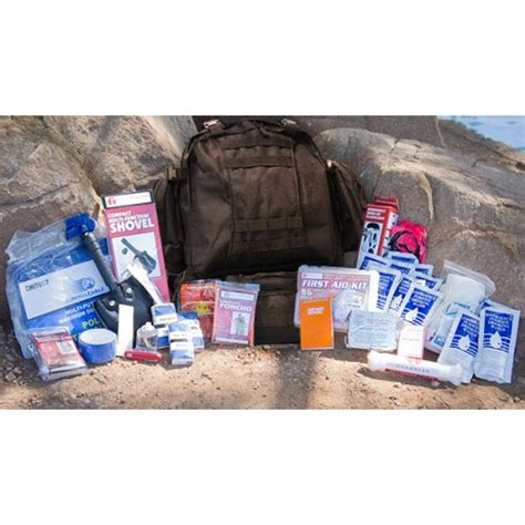 Survival Kit For 20 Something ultimate bug out kit with premium bag