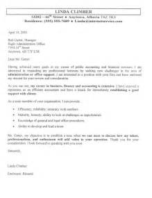 accountant cover letter exle sle