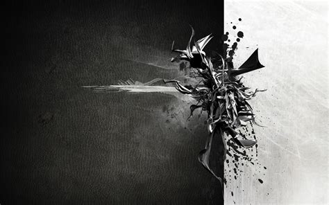 black and white modern wallpaper contemporary black and white abstract painting 6734 hd