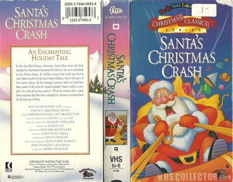 santa s christmas crash vhscollector com your analog
