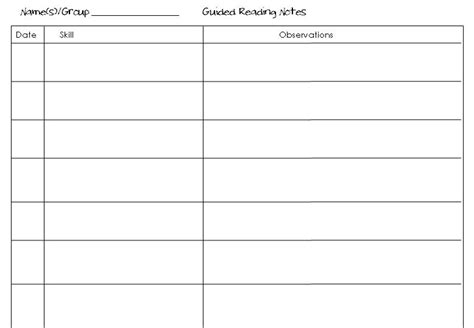 guided notes template tales from a traveling taking notes in guided rdg