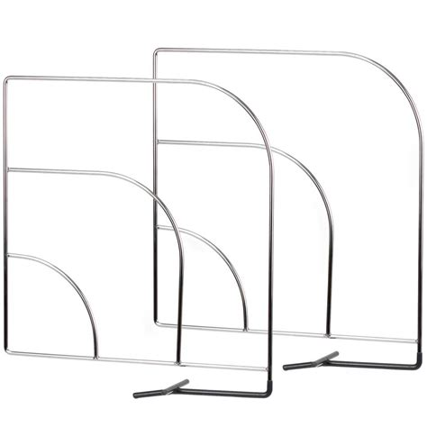 shelf dividers wire set of 2 in shelf dividers