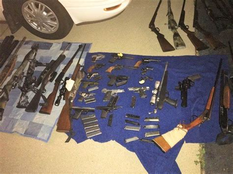 Columbus Warrant Search Search Warrant Leads To And Weapon Seizure Near