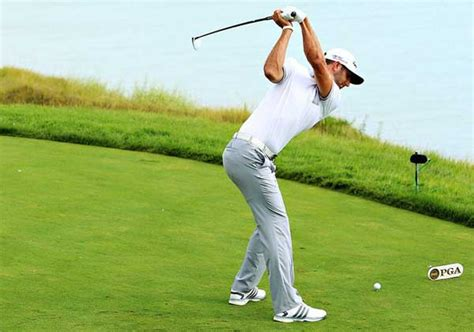 dustin johnson swing leave our balls alone