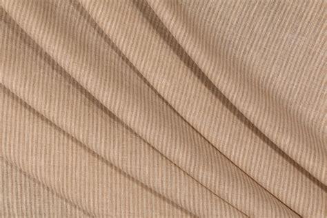 sheer drapery fabrics robert allen semi sheer pinstripe drapery fabric in cashew
