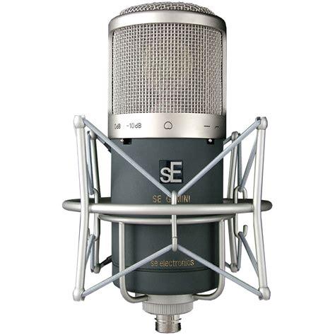 condenser microphone se electronics gemini ii dual condenser microphone dv247