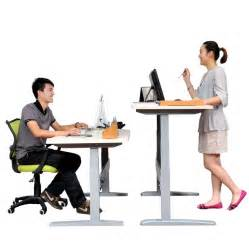 Office Desk Adjustable Height Sitting Much Is A Health Hazard Here Are 10 Ways To Move More At Work Healthworks Malaysia