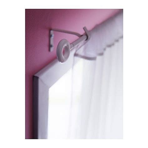 curtain rod finials ikea irja curtain rod set white