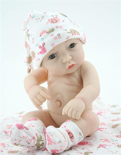 design reborn baby doll wholesale 10 inch new design full vinyl reborn baby doll