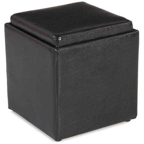 black ottoman with tray 4a 06bl blocks black storage ottoman with tray d bf 06