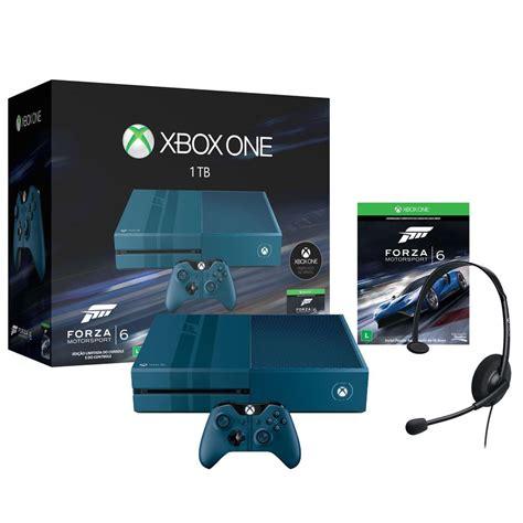xbox console one console xbox one 1tb edi 231 227 o exclusiva forza 6