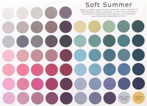 color me beautiful summer soft summer palette color me beautiful
