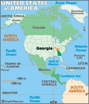 map of usa showing atlanta map geography of map of