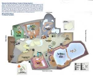 Georgia Aquarium Floor Plan by The New Georgia Aquarium