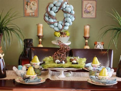 easter centerpiece ideas 15 easter table decorations and settings hgtv
