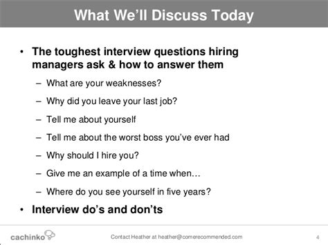 possible interview question tough interview questions the answers that will