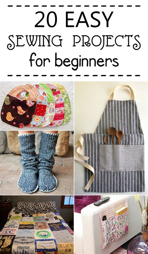 projects for beginners 20 easy sewing projects for beginners