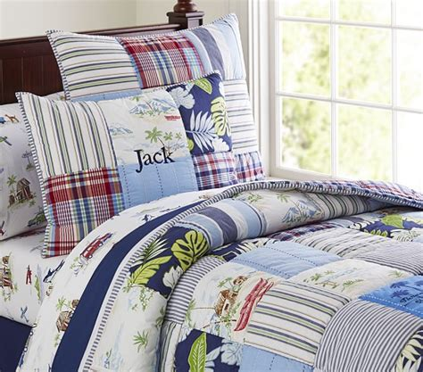 pottery barn comforters and quilts key west quilt pottery barn kids