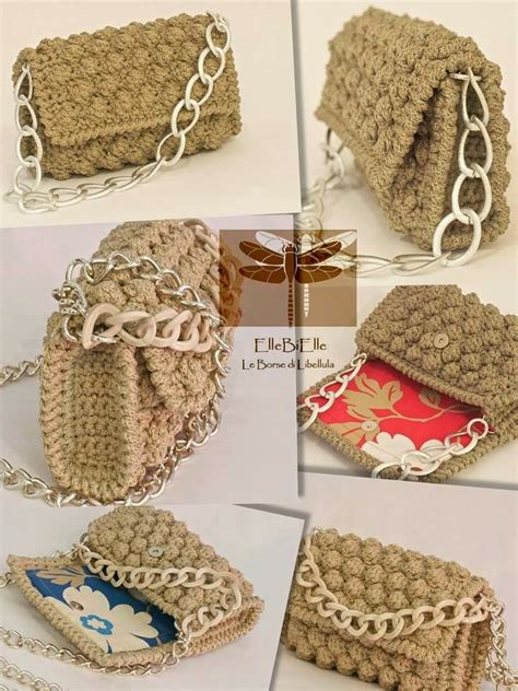 Crochet Handmade Bags - 1000 images about crochet handbags purses cases on