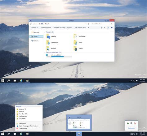 electrical themes for windows 10 windows10 build 9901 theme windows 8 1 by cu88 on deviantart