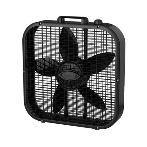 lasko 20 box fan lasko 3 speed save smart 20 inch box fan with easy carry