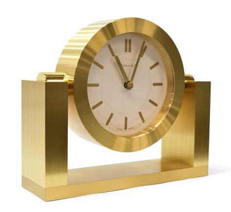 swing clock operating tiffany co brass swing clock june estates