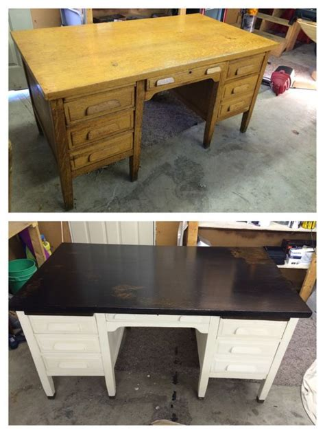 Craigslist Corner Desk by Refinished School S Desk 40 Craigslist Find Refinished With Minwax Espresso Stain And