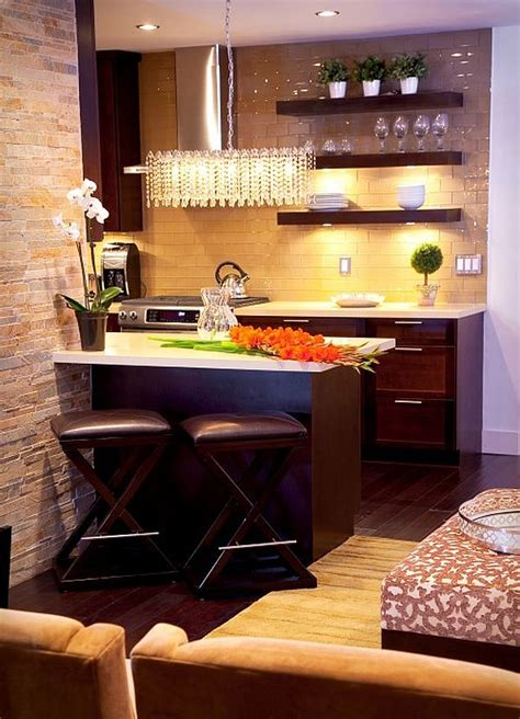 ideas for small apartment kitchens apartment small kitchen design idea decoist