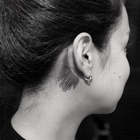 hide tattoo behind your ear 11 tiny tattoo ideas for behind your ear from celebrity