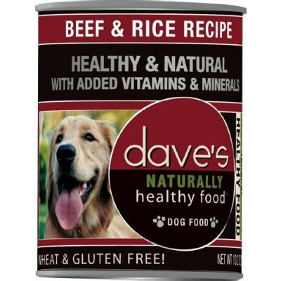 dave s food dave s beef rice canned food 13 oz