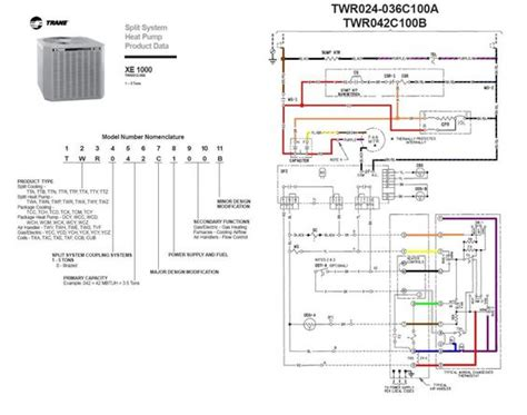 capacitor for trane xl14i trane heat wiring diagram twn042c100a4 last edited by houston204 10 24 2009 at 07 14 pm