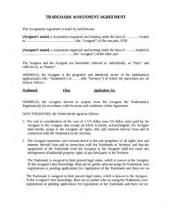 sample assignment agreement template 9 free documents