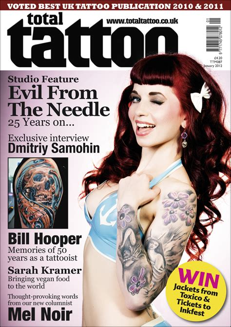 tattoo magazine total magazine govegan net