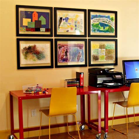 how to display art displaying kids artwork at home socialcafe magazine