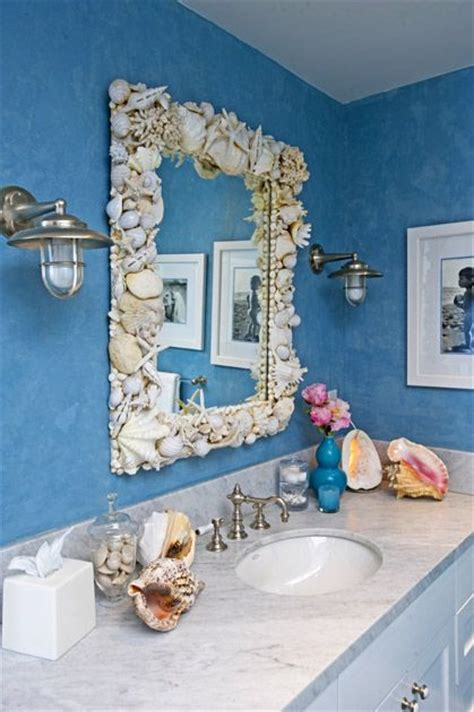 beach house bathroom mirrors love the beach decor i would love to have this mirror beach decor pinterest sea shells