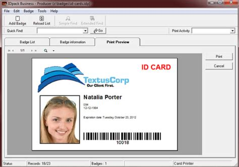 business id card template how to create id card in excel creating id