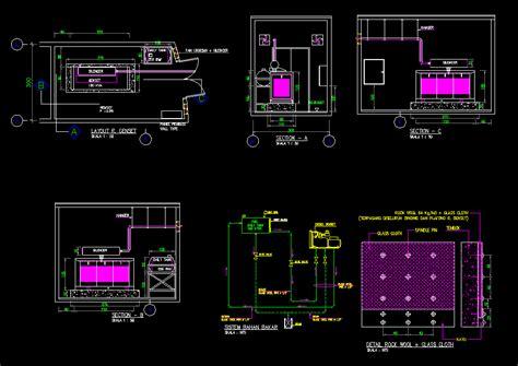 desain rumah genset kotakcad desain ruang genset kolam renang kotakcad view