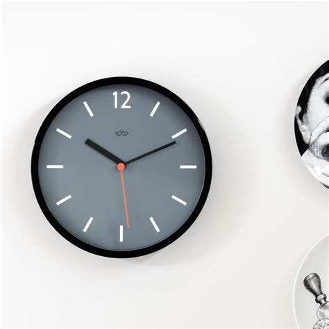 best wall clock modern wall clock by the best room notonthehighstreet com