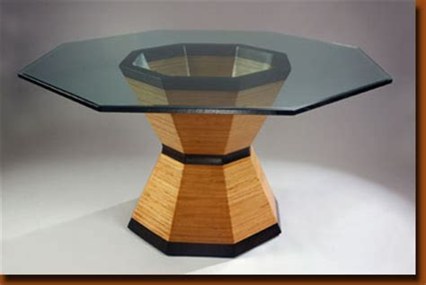 Octagon Glass Patio Table by Octagon Dining Table Muterizz