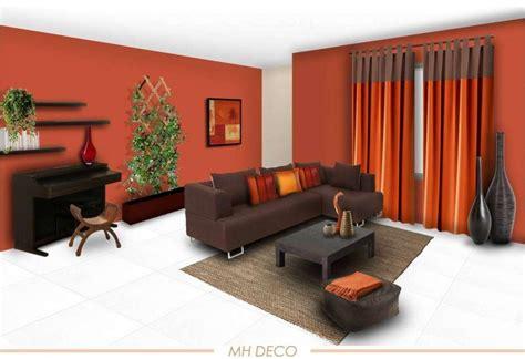 decoration orange wall paint color schemes living room