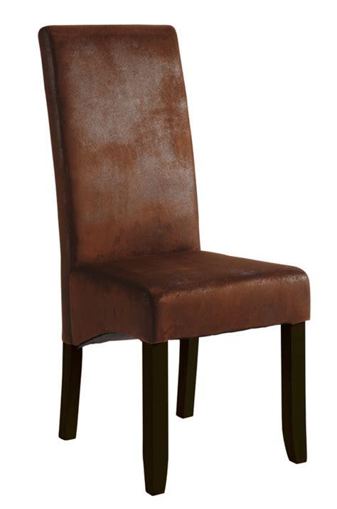 chaises sejour chaise sejour sagua marron fonce vintage