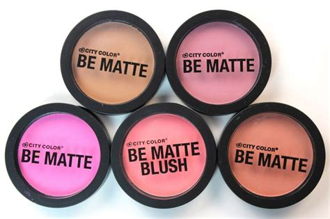 Makeup City Colour city color cosmetics be matte blushes new reviews awesome the future and