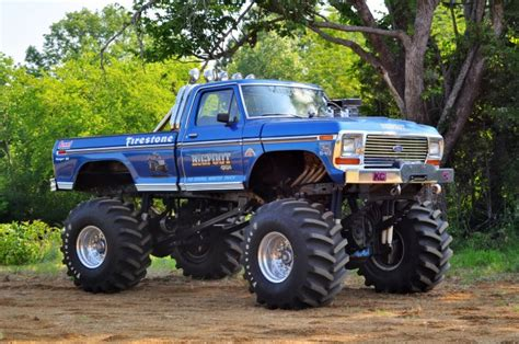 the truck bigfoot bigfoot 1 truck restoration complete