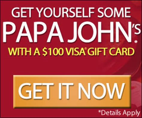 Apply For Free Gift Cards - like pizza get papa john s gift card for free