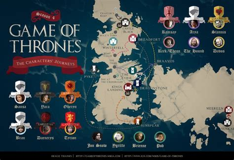 map layout for game of thrones game of thrones season 4 finale the only map you need